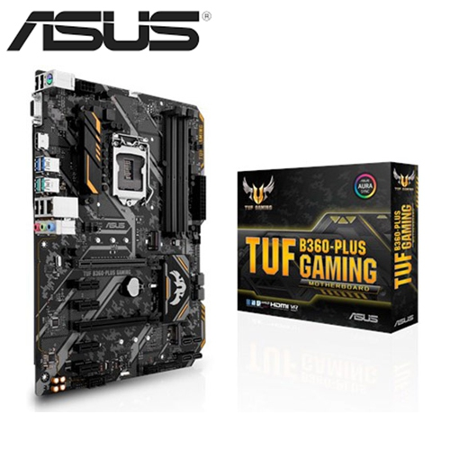 華碩 TUF B360-PLUS GAMING(ATX/1A1H/I網/註五年)