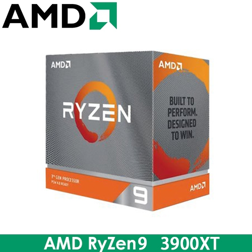 AMD RyZen R9 3900XT AM4/12核24緒/3.8G(↑4.7G)/70M/7nm/105W/PCIE4.0